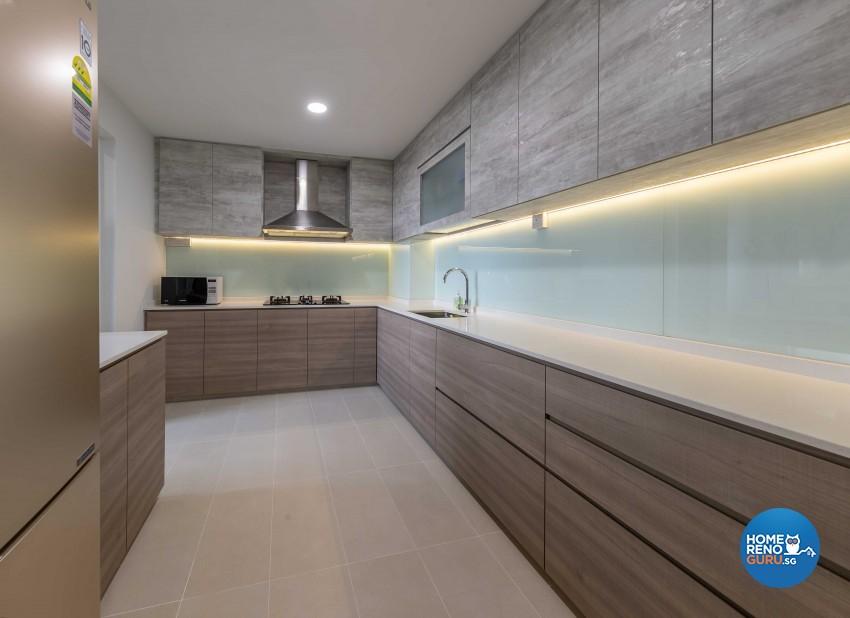 Classical, Modern Design - Kitchen - HDB 5 Room - Design by Swiss Interior Design Pte Ltd