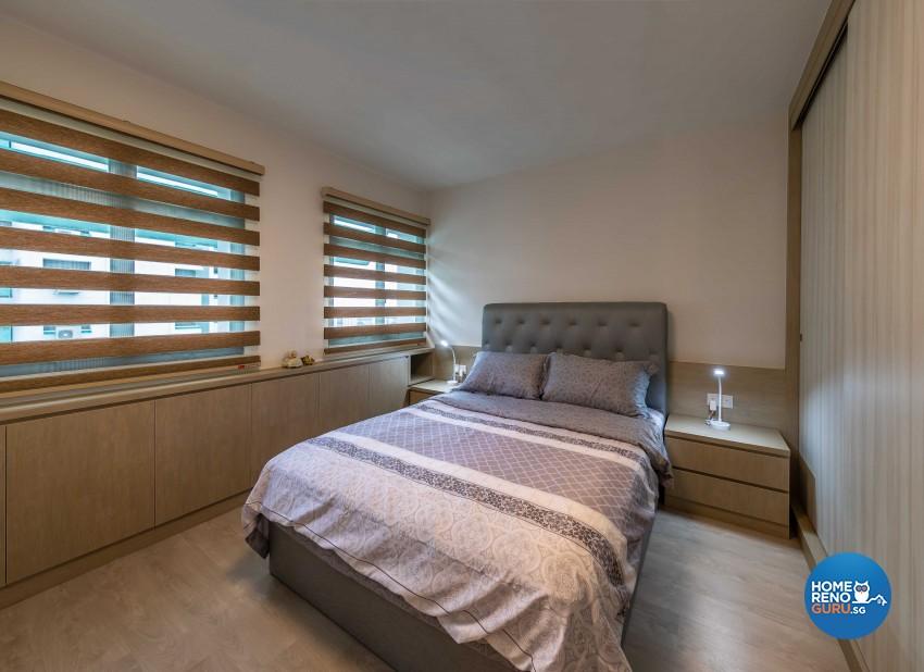 Classical, Modern Design - Bedroom - HDB 5 Room - Design by Swiss Interior Design Pte Ltd