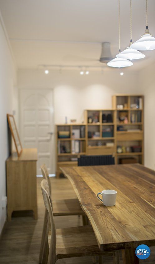 Contemporary, Minimalist, Scandinavian Design - Dining Room - HDB 5 Room - Design by Swiss Interior Design Pte Ltd