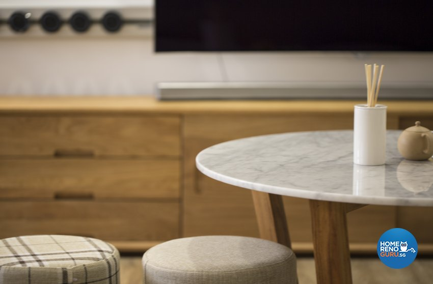 Contemporary, Minimalist, Scandinavian Design - Living Room - HDB 5 Room - Design by Swiss Interior Design Pte Ltd