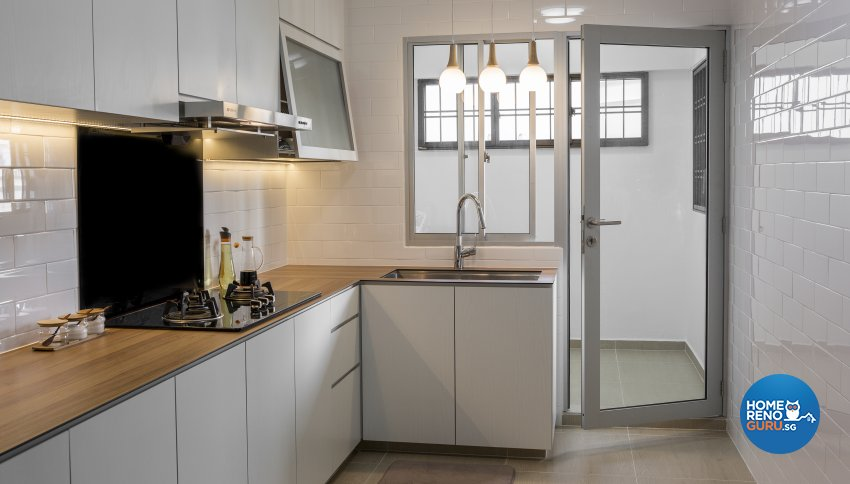 Contemporary, Minimalist, Scandinavian Design - Kitchen - HDB 5 Room - Design by Swiss Interior Design Pte Ltd