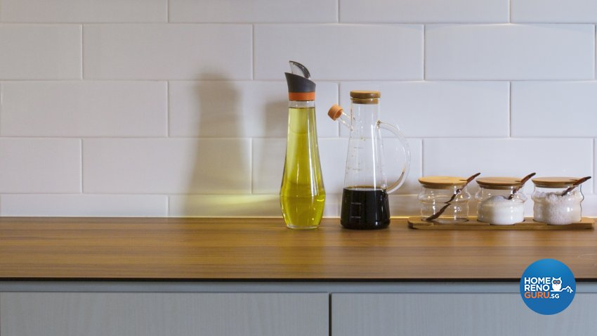 Contemporary, Minimalist, Scandinavian Design - Kitchen - HDB 5 Room - Design by Swiss Interior Design Pte Ltd