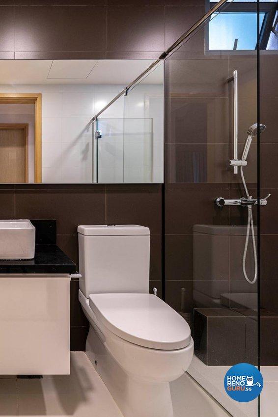 Modern Design - Bathroom - Condominium - Design by Swiss Interior Design Pte Ltd