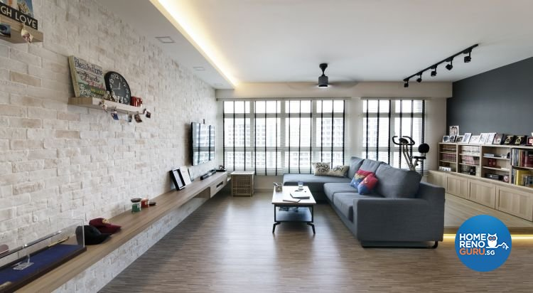 Contemporary, Industrial, Minimalist Design - Living Room - Others - Design by Swiss Interior Design Pte Ltd