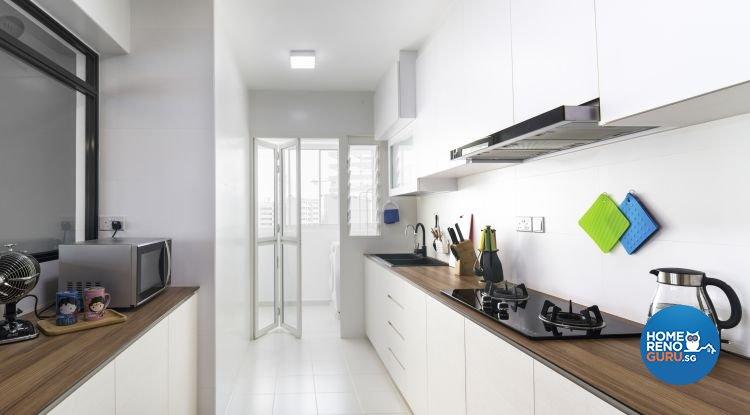 Contemporary, Industrial, Minimalist Design - Kitchen - Others - Design by Swiss Interior Design Pte Ltd