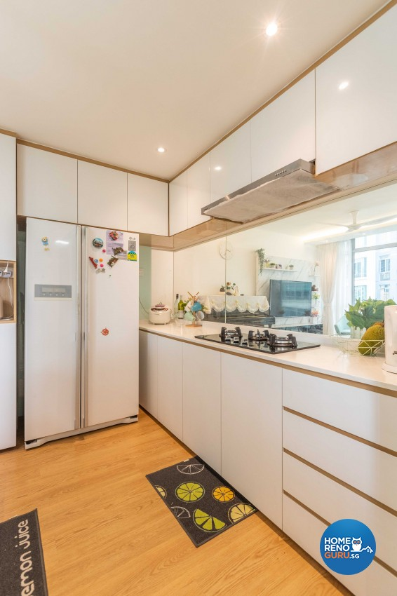 Scandinavian Design - Kitchen - Condominium - Design by Swiss Interior Design Pte Ltd