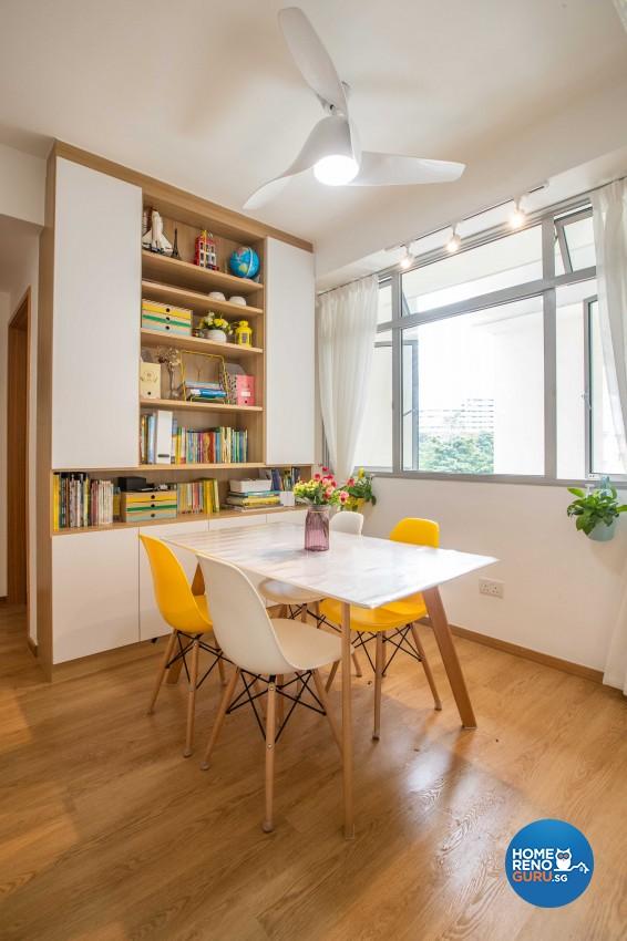 Scandinavian Design - Dining Room - Condominium - Design by Swiss Interior Design Pte Ltd