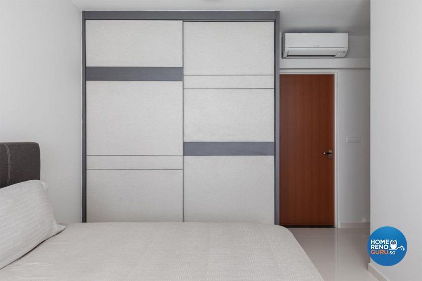 Modern Design - Bedroom - HDB 4 Room - Design by Swiss Interior Design Pte Ltd