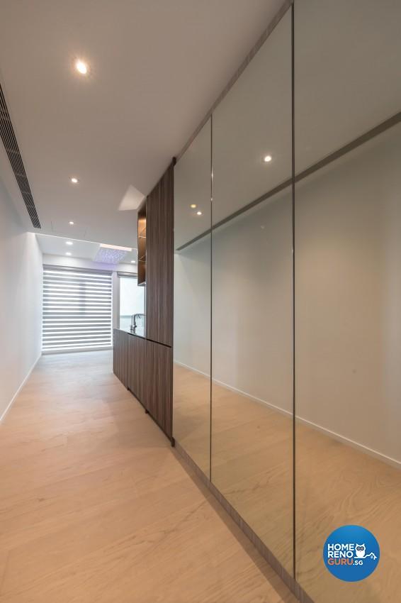 Minimalist Design - Living Room - Condominium - Design by Swiss Interior Design Pte Ltd