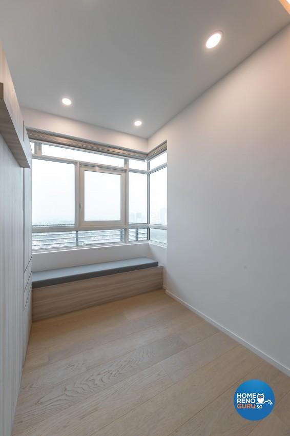 Minimalist Design - Bedroom - Condominium - Design by Swiss Interior Design Pte Ltd