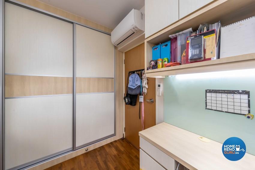 Scandinavian Design - Bedroom - HDB 5 Room - Design by Swiss Interior Design Pte Ltd