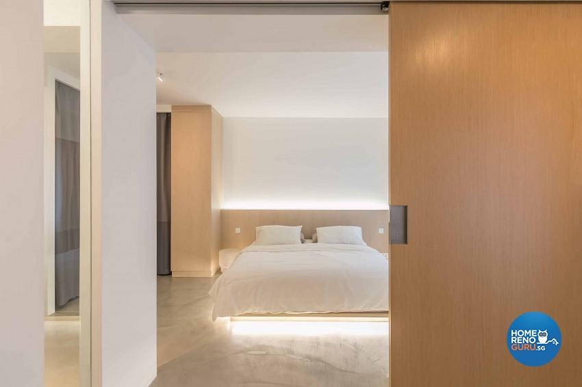 Minimalist Design - Bedroom - HDB 5 Room - Design by Swiss Interior Design Pte Ltd