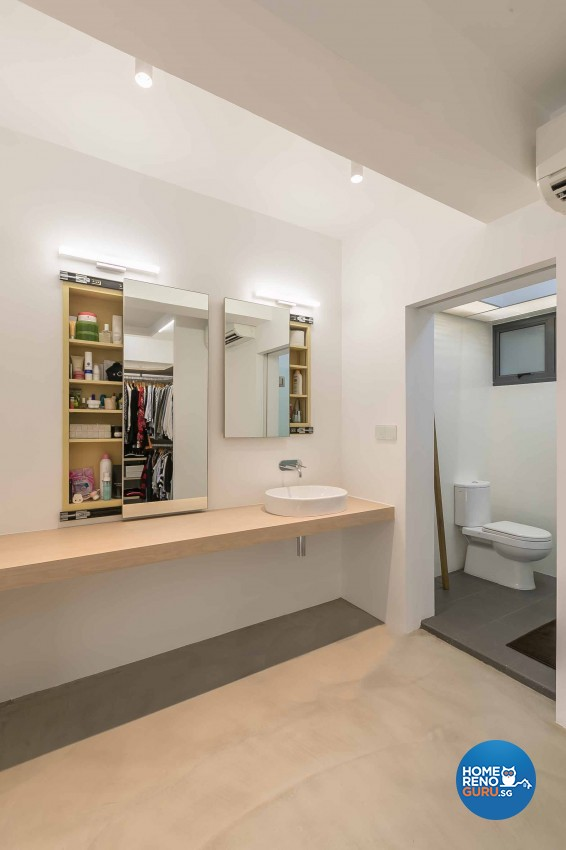 Minimalist Design - Bathroom - HDB 5 Room - Design by Swiss Interior Design Pte Ltd