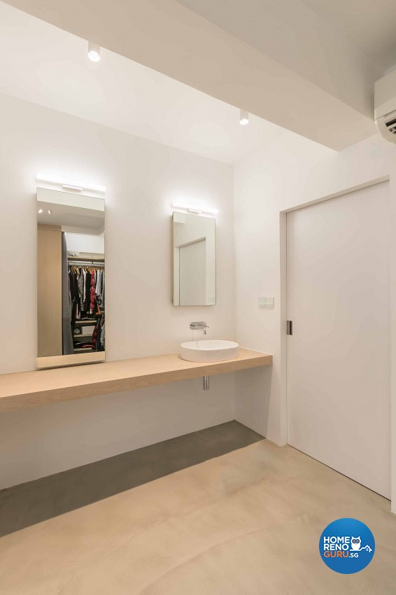 Minimalist Design - Bathroom - HDB 5 Room - Design by Swiss Interior Design Pte Ltd