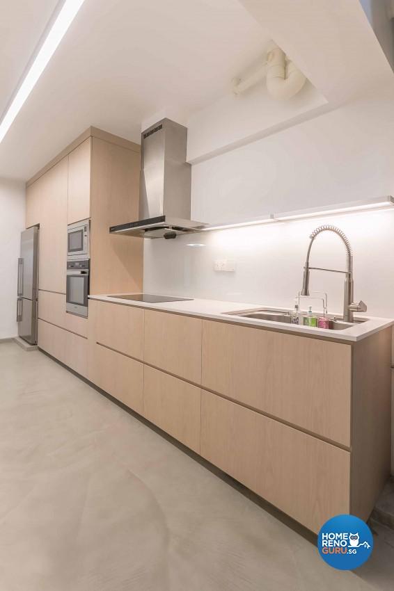 Minimalist Design - Kitchen - HDB 5 Room - Design by Swiss Interior Design Pte Ltd