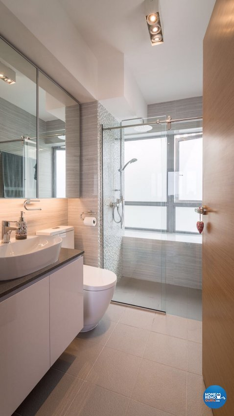 Contemporary, Modern Design - Bathroom - Others - Design by Swiss Interior Design Pte Ltd