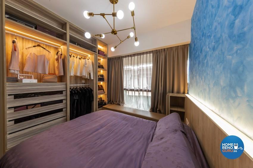 Modern Design - Bedroom - Condominium - Design by Swiss Interior Design Pte Ltd