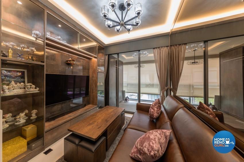 Modern Design - Living Room - Condominium - Design by Swiss Interior Design Pte Ltd
