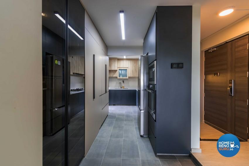 Contemporary, Scandinavian Design - Kitchen - HDB 5 Room - Design by Swiss Interior Design Pte Ltd