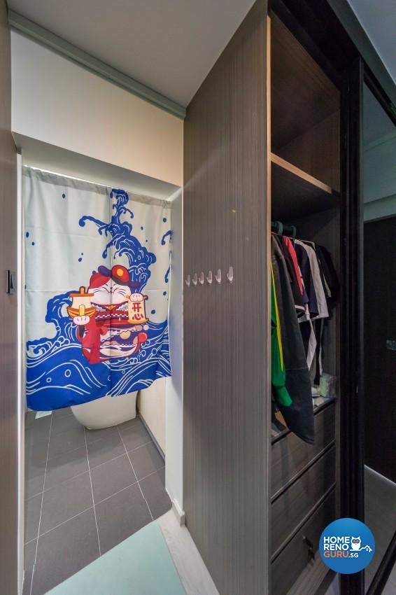 Contemporary, Scandinavian Design - Bedroom - HDB 5 Room - Design by Swiss Interior Design Pte Ltd