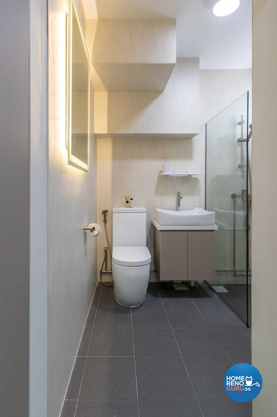 Contemporary, Scandinavian Design - Bathroom - HDB 5 Room - Design by Swiss Interior Design Pte Ltd