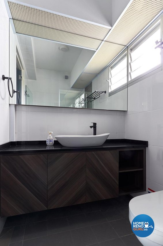 Modern, Scandinavian Design - Bathroom - HDB 4 Room - Design by Swiss Interior Design Pte Ltd