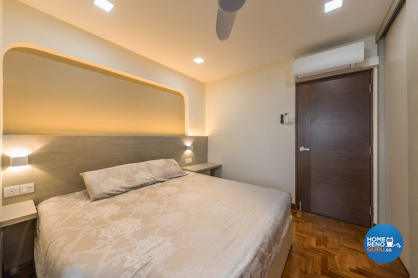 Modern, Scandinavian Design - Bedroom - HDB 5 Room - Design by Swiss Interior Design Pte Ltd