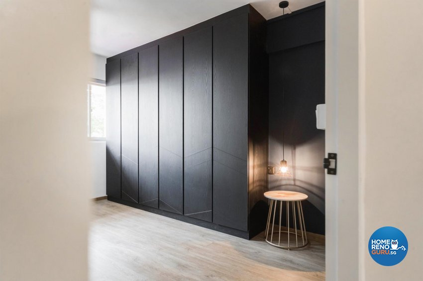 Contemporary, Modern Design - Study Room - HDB 4 Room - Design by Swiss Interior Design Pte Ltd