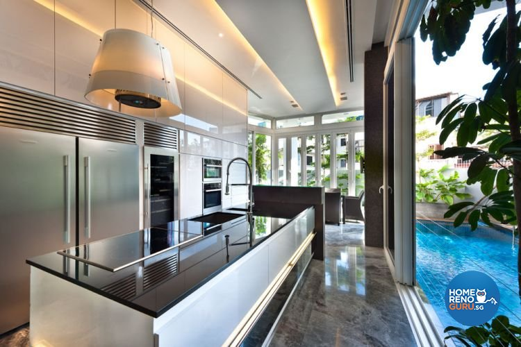 Contemporary, Modern Design - Kitchen - Landed House - Design by Taims Interior Pte Ltd