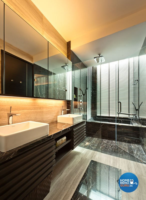 Contemporary, Modern Design - Bathroom - Landed House - Design by Taims Interior Pte Ltd