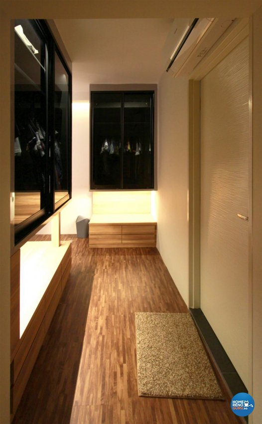 Contemporary, Minimalist Design - Bedroom - HDB 4 Room - Design by Takeji Design Pte. Ltd.