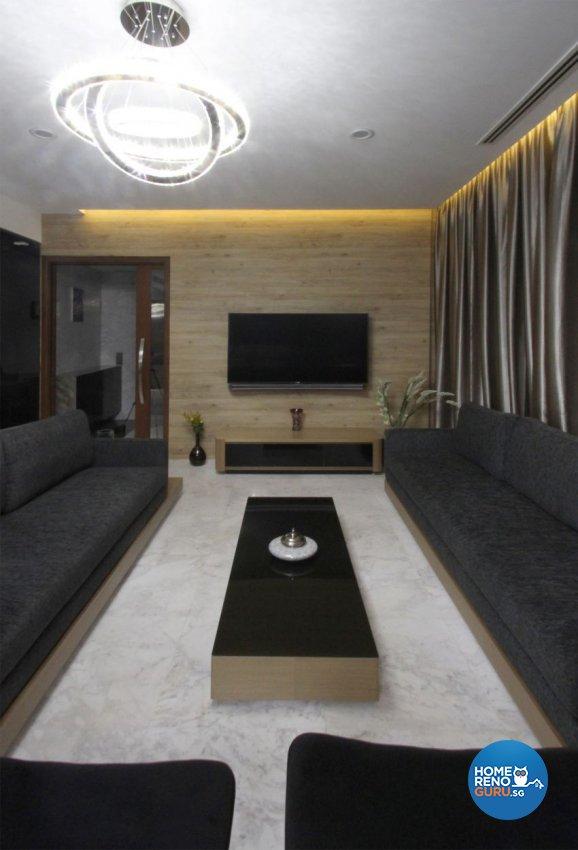 Modern, Resort, Tropical Design - Living Room - Condominium - Design by Takeji Design Pte. Ltd.