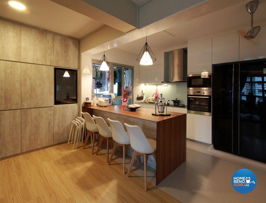 Contemporary, Scandinavian Design - Dining Room - HDB 5 Room - Design by Takeji Design Pte. Ltd.