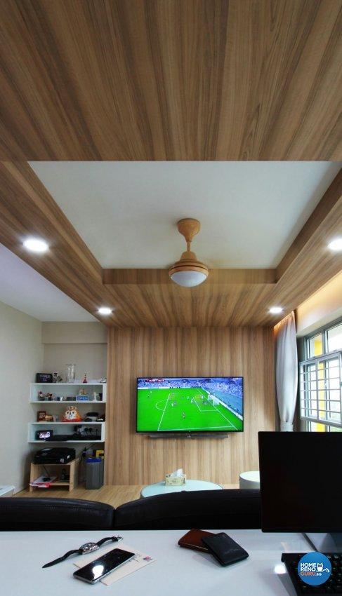 Contemporary, Scandinavian Design - Living Room - HDB 5 Room - Design by Takeji Design Pte. Ltd.