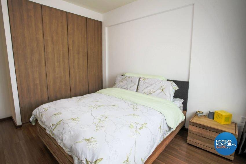 Minimalist, Modern, Scandinavian Design - Bedroom - HDB Executive Apartment - Design by ted iD Pte Ltd