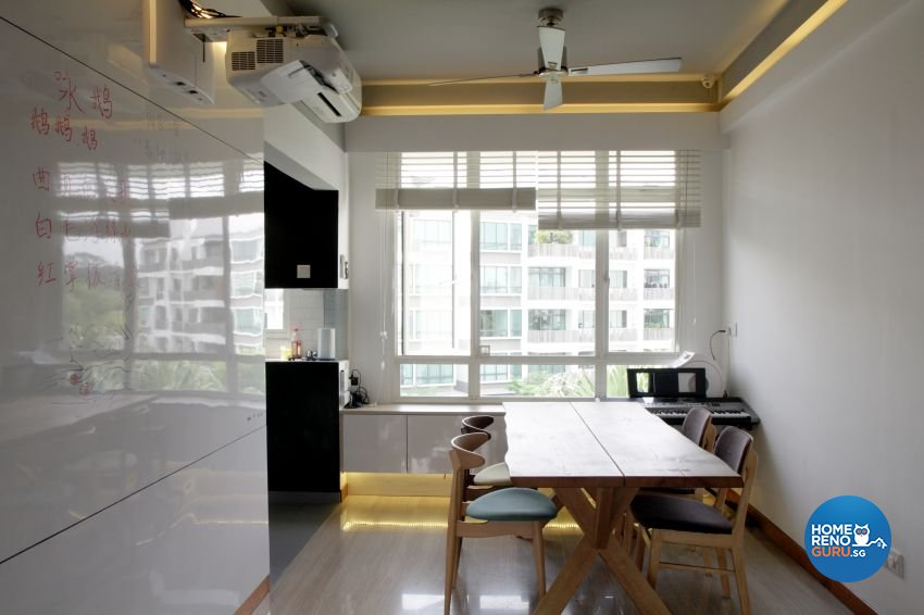 Minimalist Design - Dining Room - Condominium - Design by ted iD Pte Ltd