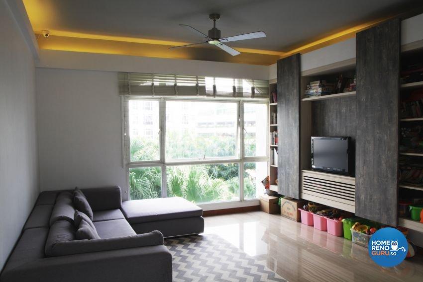 Minimalist Design - Living Room - Condominium - Design by ted iD Pte Ltd