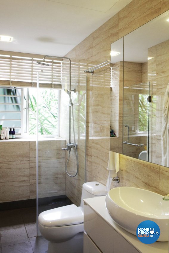 Minimalist Design - Bathroom - Condominium - Design by ted iD Pte Ltd