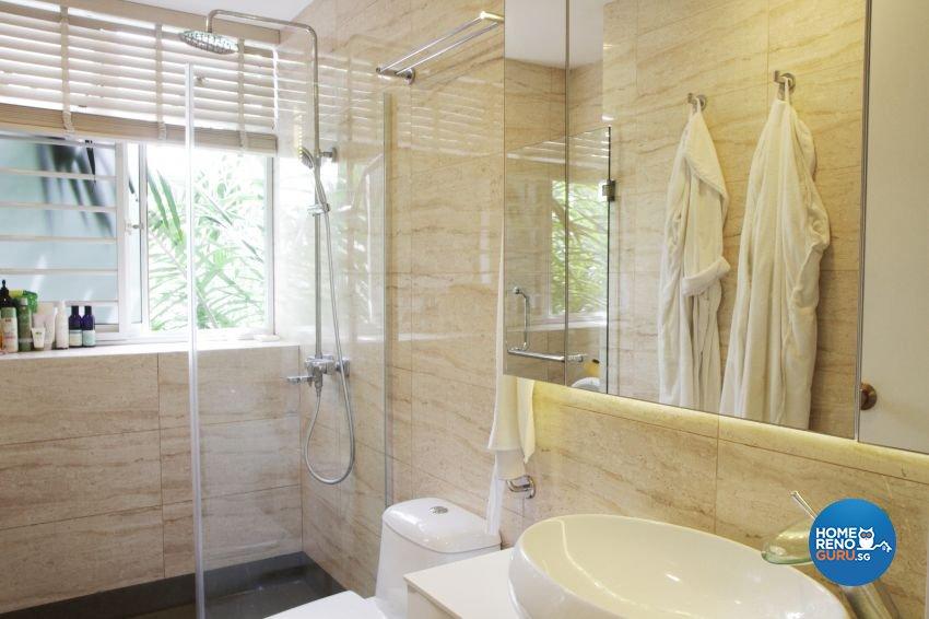 Minimalist Design - Bathroom - Condominium - Design by ted iD Pte Ltd
