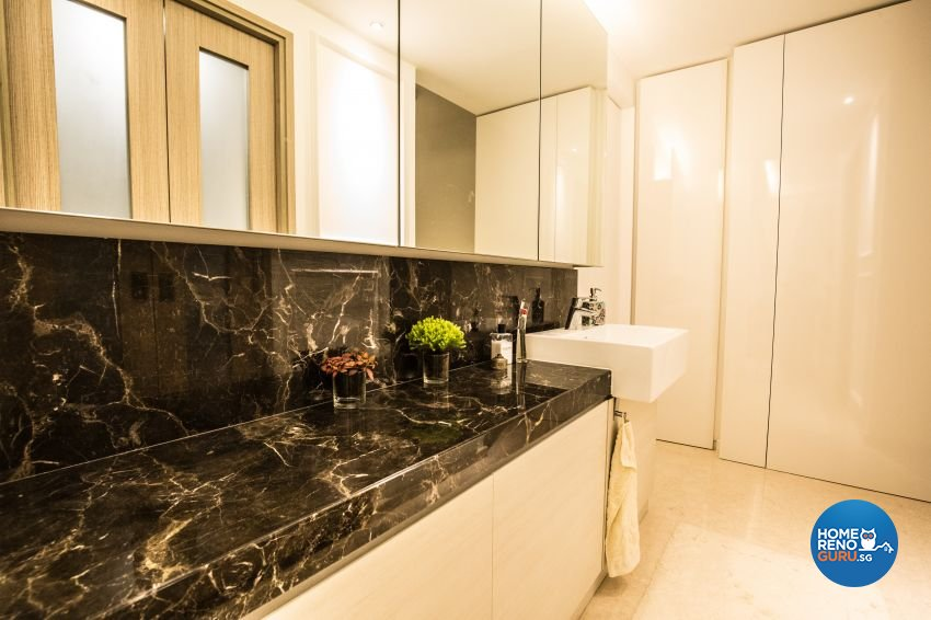 Contemporary, Victorian Design - Bathroom - Condominium - Design by ted iD Pte Ltd