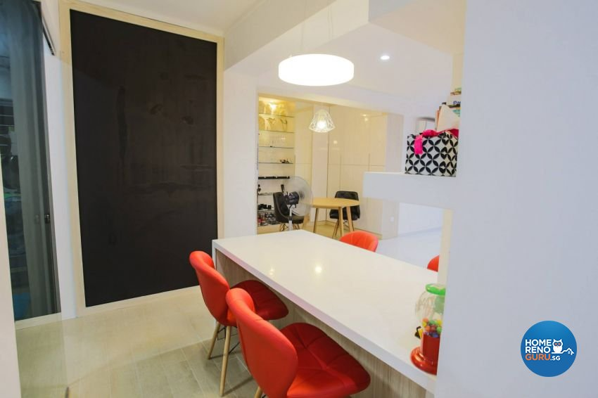 Contemporary Design - Dining Room - HDB 3 Room - Design by ted iD Pte Ltd