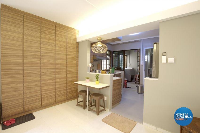 Minimalist Design - Kitchen - HDB Executive Apartment - Design by ted iD Pte Ltd