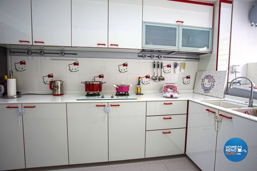 Contemporary Design - Kitchen - HDB 3 Room - Design by ted iD Pte Ltd