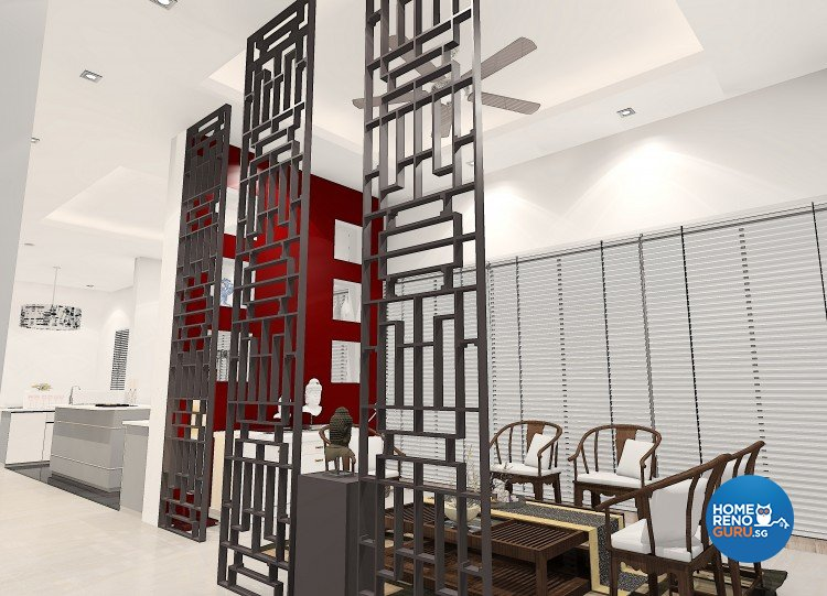 Contemporary, Eclectic Design - Dining Room - Landed House - Design by The Creative Formation Pte Ltd