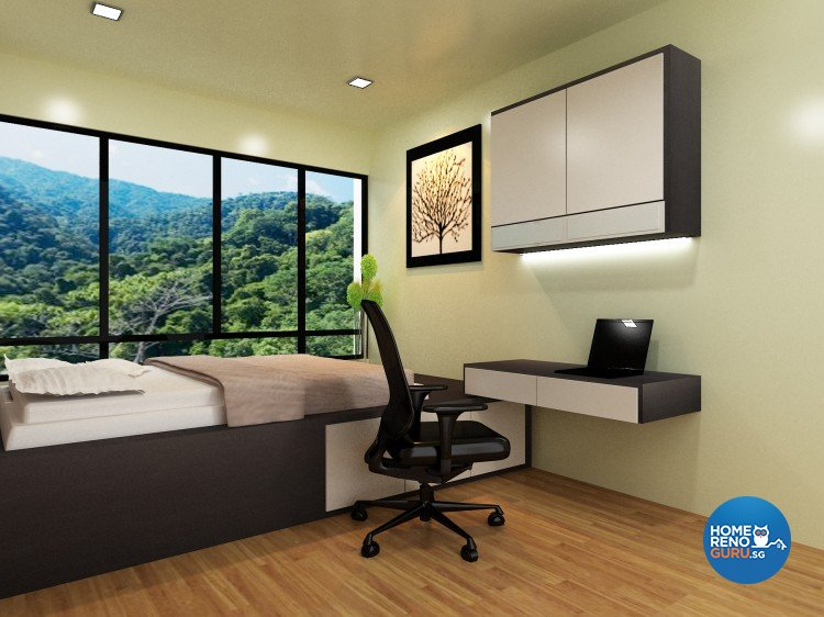 Contemporary, Minimalist Design - Bedroom - Condominium - Design by The Creative Formation Pte Ltd