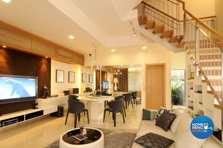 Contemporary, Modern Design - Dining Room - Landed House - Design by The Design Ministry Pte Ltd
