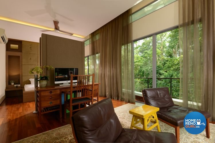 Contemporary, Country, Rustic Design - Bedroom - Landed House - Design by The Design Ministry Pte Ltd