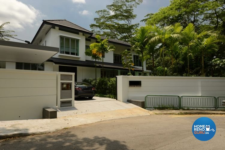 Contemporary, Country, Rustic Design - Garden - Landed House - Design by The Design Ministry Pte Ltd