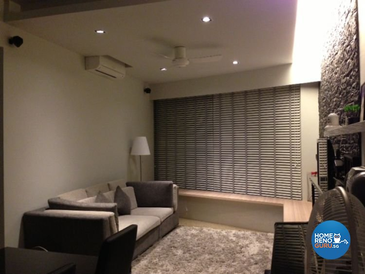 Contemporary, Modern Design - Living Room - HDB 5 Room - Design by The Interarch Design Pte Ltd