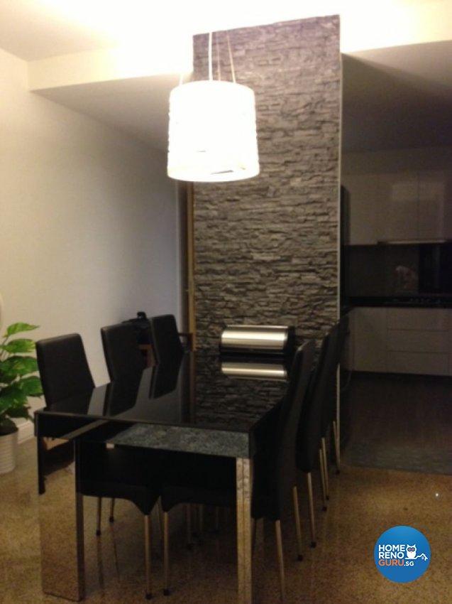 Contemporary, Modern Design - Dining Room - HDB 5 Room - Design by The Interarch Design Pte Ltd